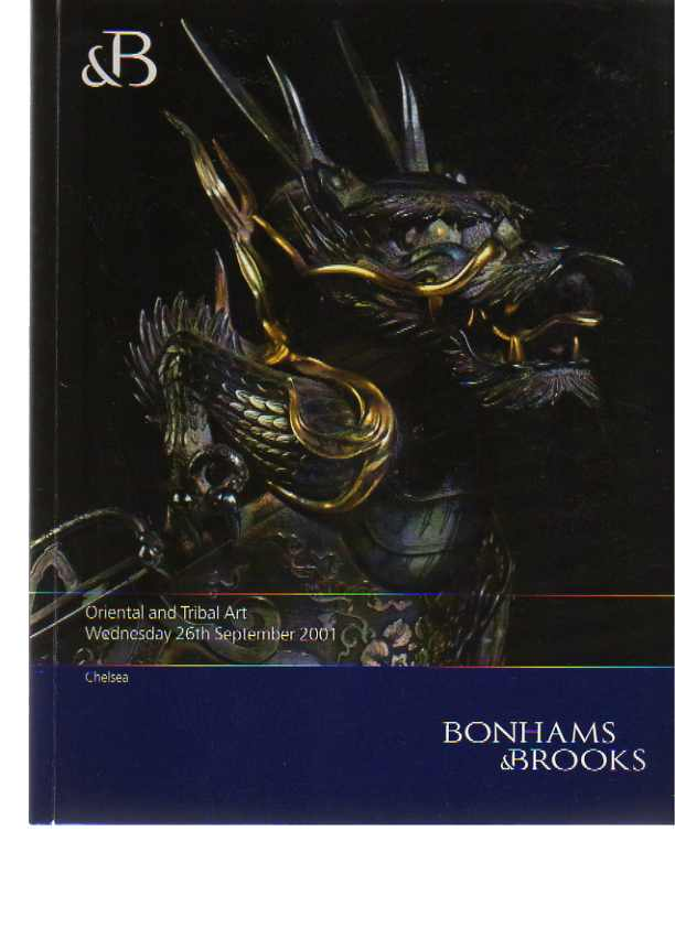 Bonhams 2001 Oriental & Tribal Art