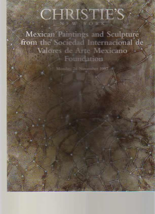 Christies 1997 Mexican Paintings & Sculpture