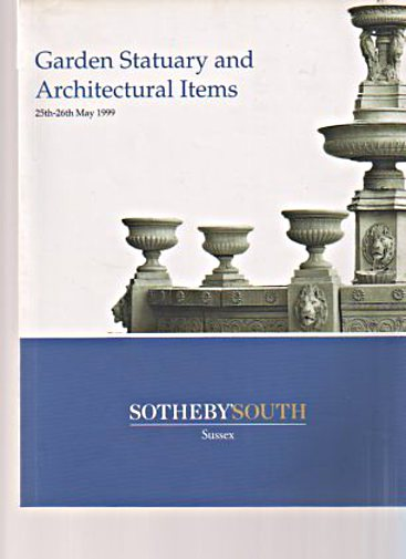 Sothebys 1999 Garden Statuary & Architectural Items