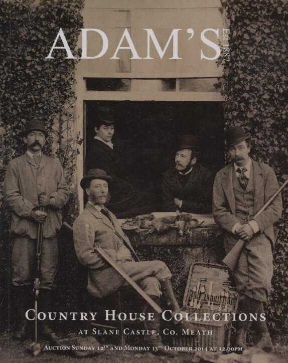 Adams Oct 2014 Country House Collection, Silver. Furniture, Paintings, Porcelain