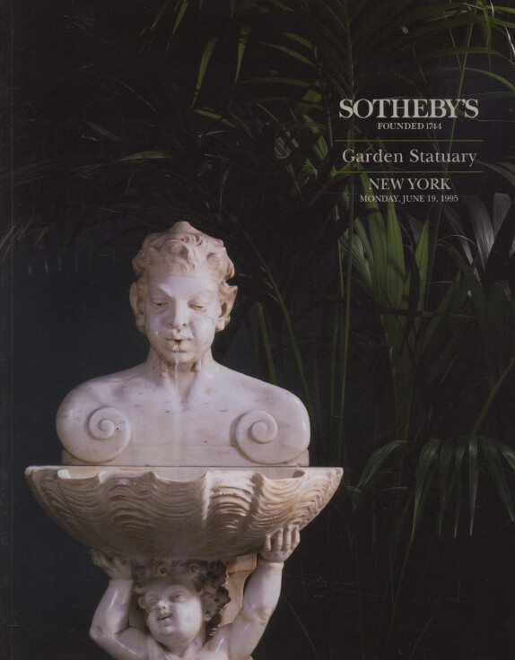 Sothebys June 1995 Garden Statuary