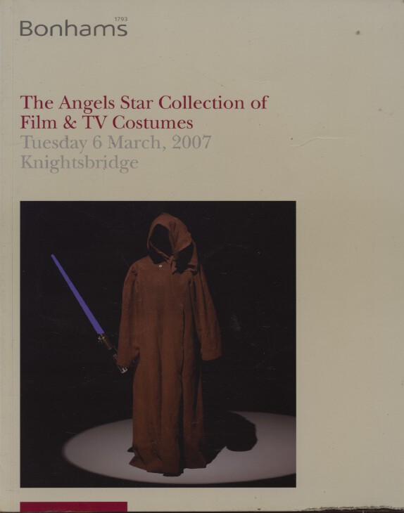 Bonhams March 2007 The Angels Star Collection of Film & TV Costumes
