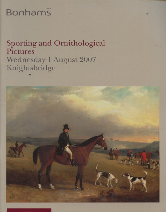 Bonhams August 2007 Sporting and Ornithological Pictures