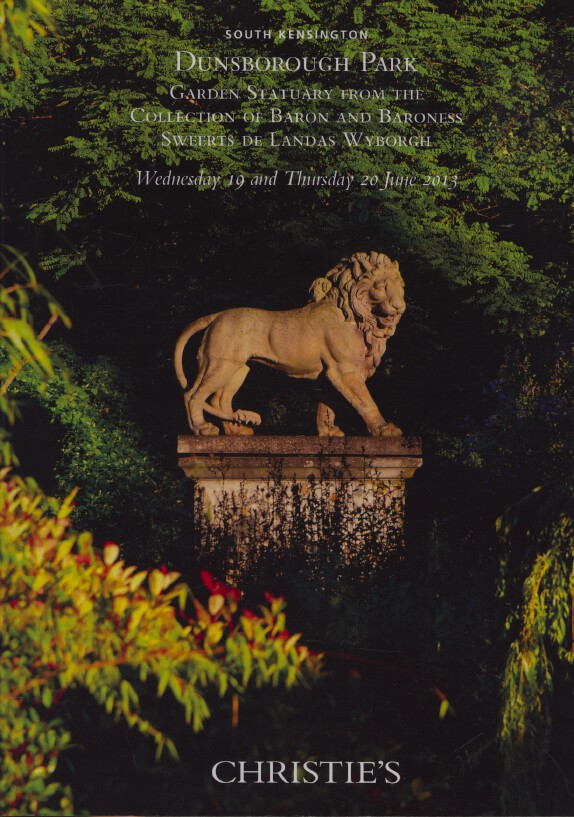 Christies June 2013 Garden Statuary Collection Baron Sweerts de Landas Wyborgh