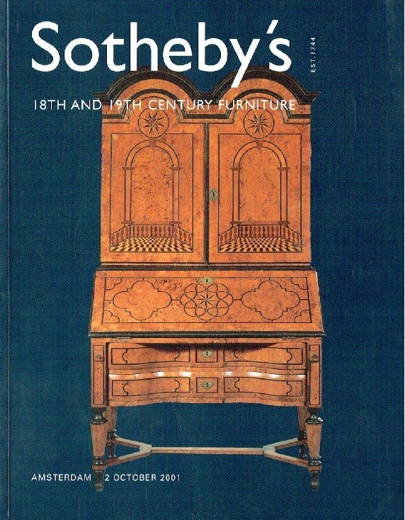 Sothebys October 2001 18th & 19th Century Furniture