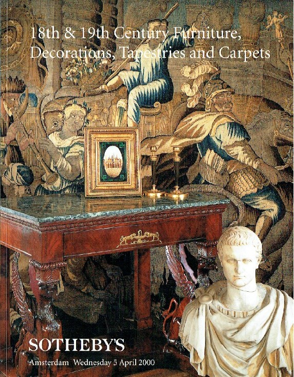 Sothebys April 1997 18th & 19th Century Furniture, Decorations & Tapestries