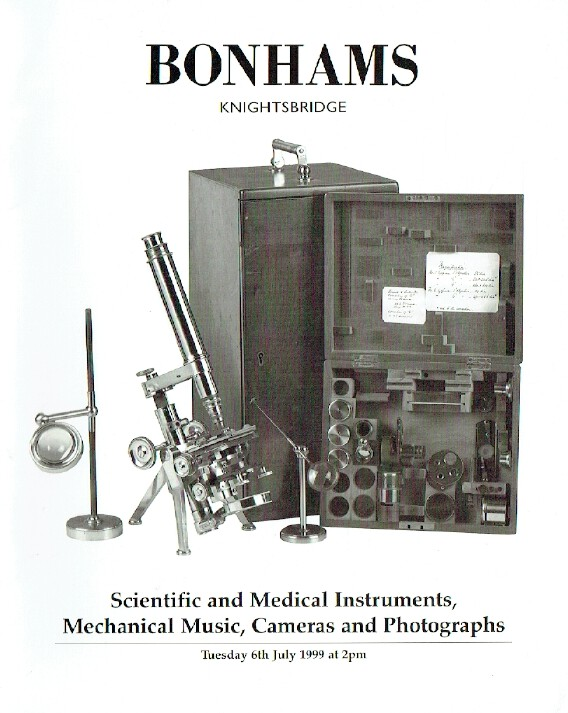 Bonhams July 1999 Scientific and Medical Instruments, Mechanical Music & Cameras