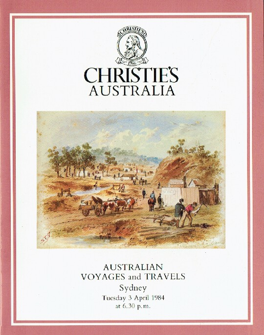 Christies April 1984 Australian Voyages and Travels