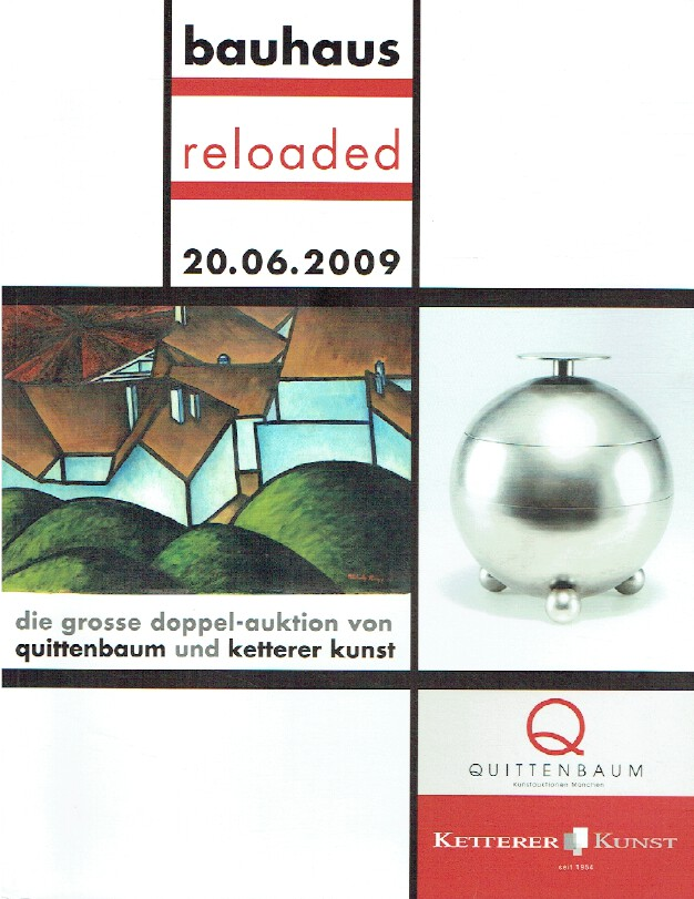 Ketterer June 2009 The Large Double - Auction of Quince Tree & Ketterer Art