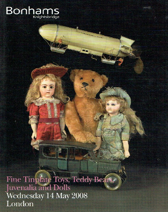 Bonhams May 2008 Fine Tinplate Toys, Teddy Bears, Juvenalia and Dolls