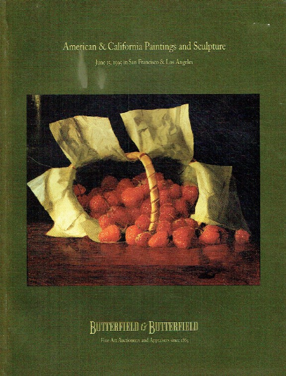 Butterfields June 1995 American & California Paintings & Sculpture