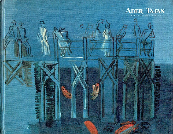 Ader Tajan June 1992 Important Paintings by Raoul Dufy
