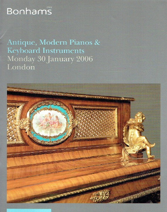 Bonhams January 2006 Antique, Modern Pianos and Keyboard Instruments