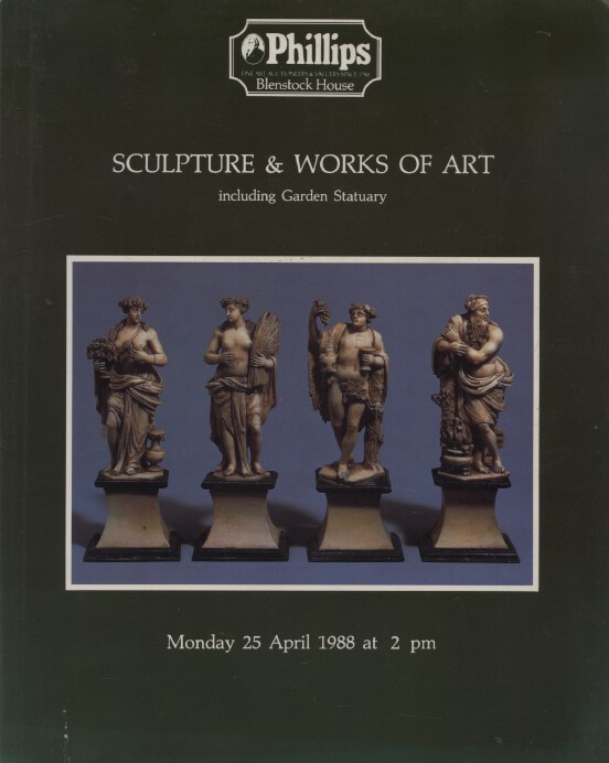 Phillips April 1988 Sculpture & Works of Art including Garden Statuary