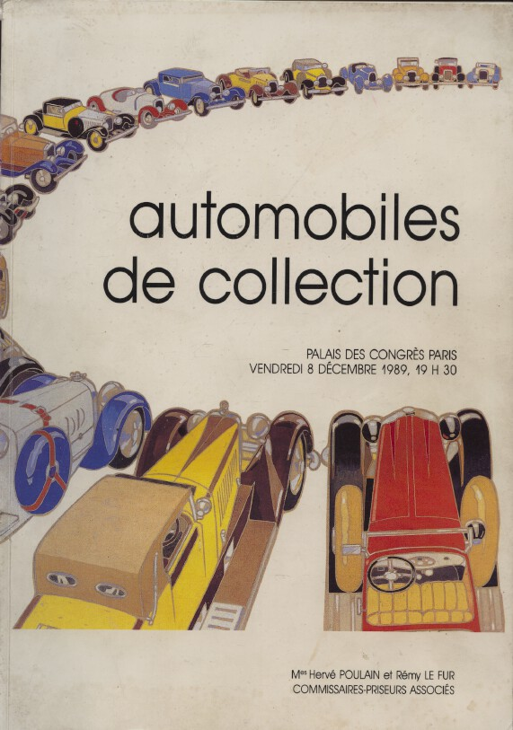 Poulain - Le Fur December 1989 Collectors' Cars