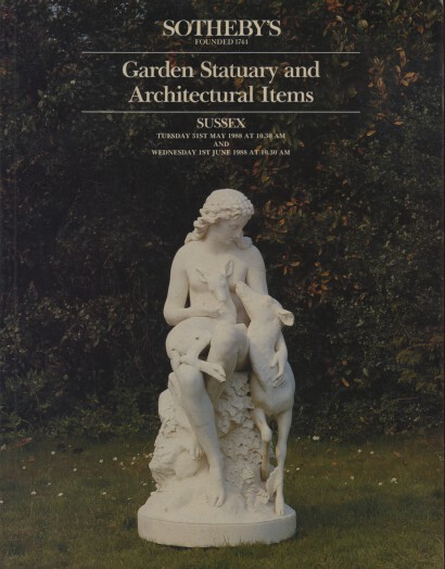 Sothebys 1988 Garden Statuary and Architectural Items