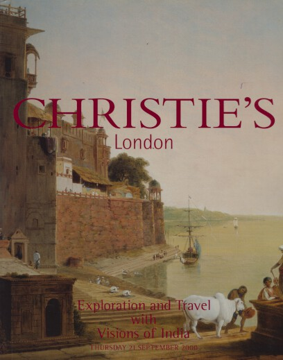 Christies 2000 Exploration & Travel with Visions of India